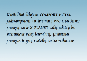 Padeka_Comfort Hotel